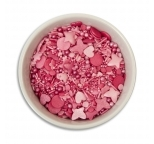 Sprinkletti - Shades of Pink Mix Sprinkles 100g net