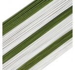 Sunrise Floral Wires WHITE 20 gauge 25 PACK