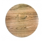 TIMBER Pattern MDF cake board - 14 inch ROUND