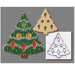 Cookie Cutter - CHRISTMAS TREE WITH CUT OUTS 7.5 - DISCONTINUED