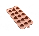 Triangle Flat Topped Silicone Chocolate Mould