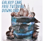Tutorial - Video Tutorial Galaxy Cake