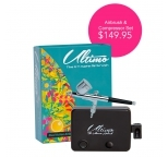 Airbrush Ultimo Dual Action Airbrush and Compressor Set