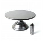 Vintage Style Silver Cake Stand - 10 diameter