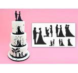 Wedding Silhouette Set Patchwork Cutter