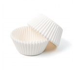 White STANDARD Cupcake Cases 30 pack
