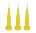 YELLOW Bullet Candles - Bulk Box of 144