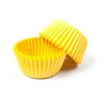 Yellow STANDARD Cupcake Cases 40 pack