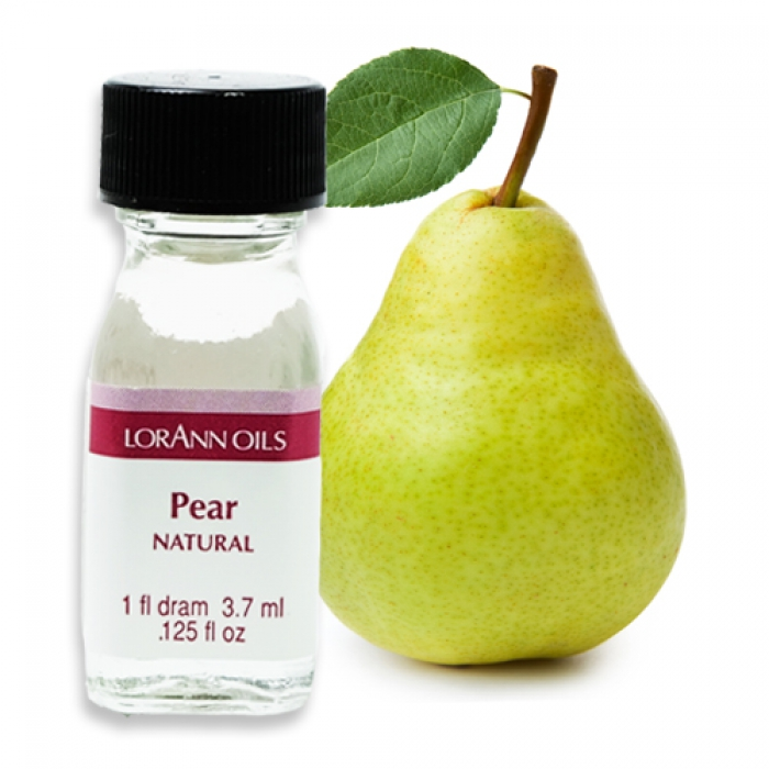 1 Dram Lorann - PEAR (NATURAL) Flavour