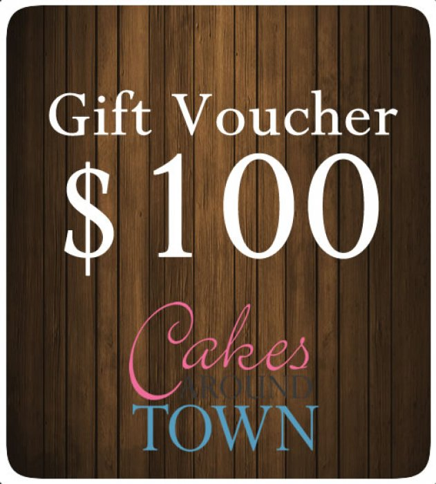 Cake Decorating Supplies Gift Voucher