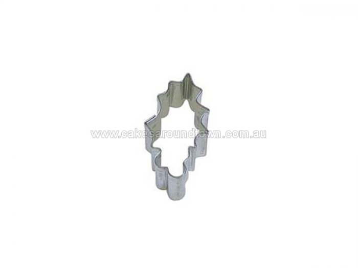 COOKIE CUTTER - Mini Holly Leaf 1.75