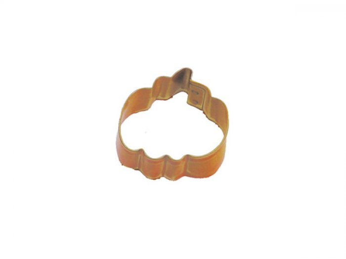 COOKIE CUTTER - MINI Pumpkin 1.5 ORANGE Resin