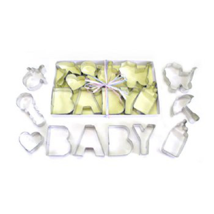 baby shower cookie cutters set 10pc rm 1945