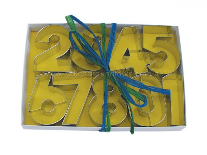 Number Cookie Cutter Set 2.5