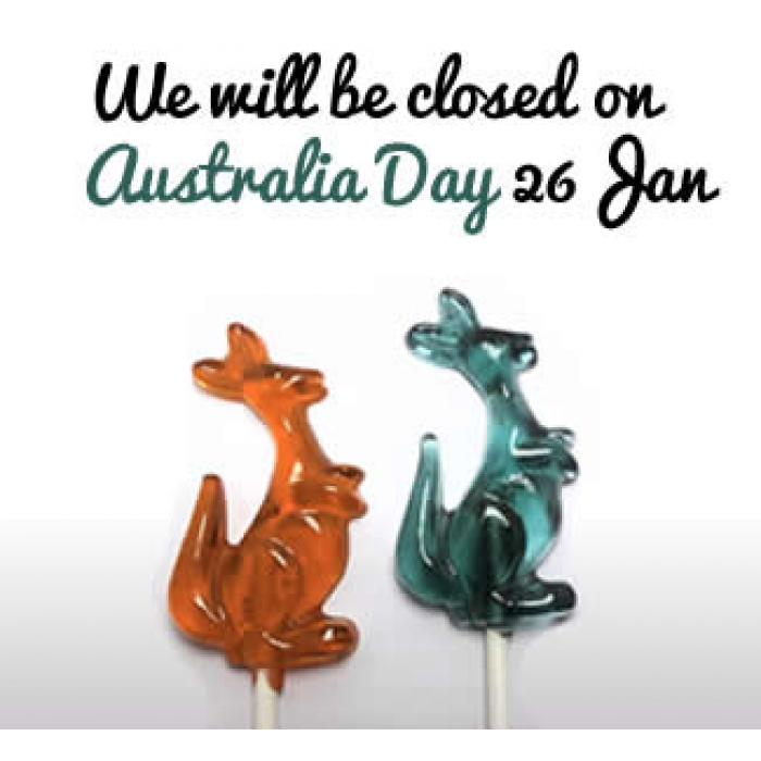 2.5inch KANGAROO LOLLIPOP HARD Candy & chocolate mould - DISCONTINUED