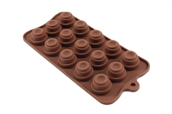 3 Tiered Swirl Silicone Chocolate Mould