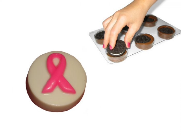 Awareness / Pink Ribbon Oreo Cookie Mould
