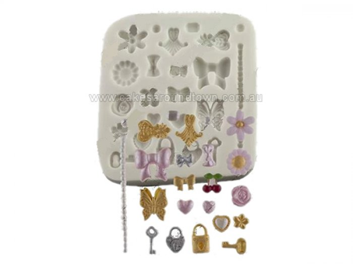 Tiny Decorations Sugarcraft Silicone Mould