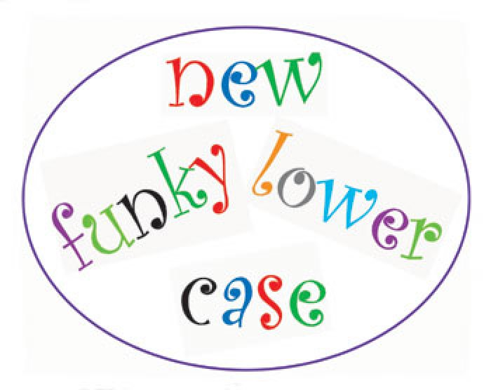 FMM Funky Alphabet Lower Case Tappits  Set