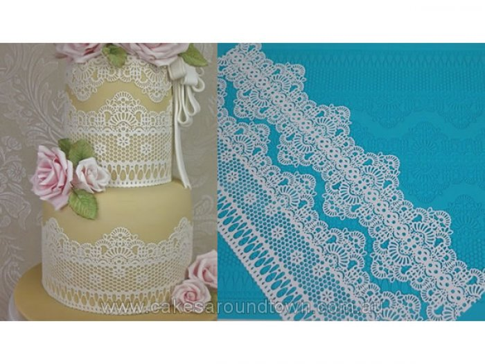 Claire Bowman Cake Lace Mat Chantilly