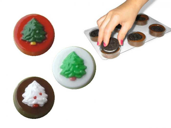Christmas Tree Oreo Cookie Mould
