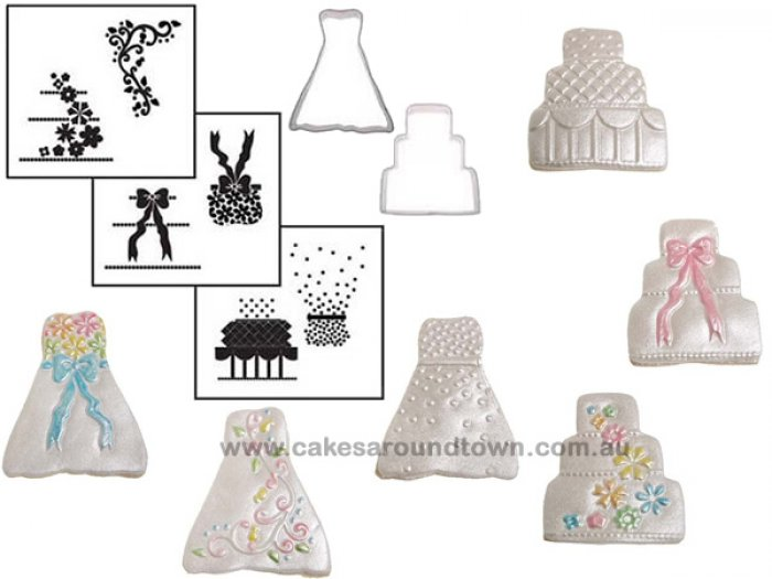 Cookie Cutter Texture Set - MINI WEDDING