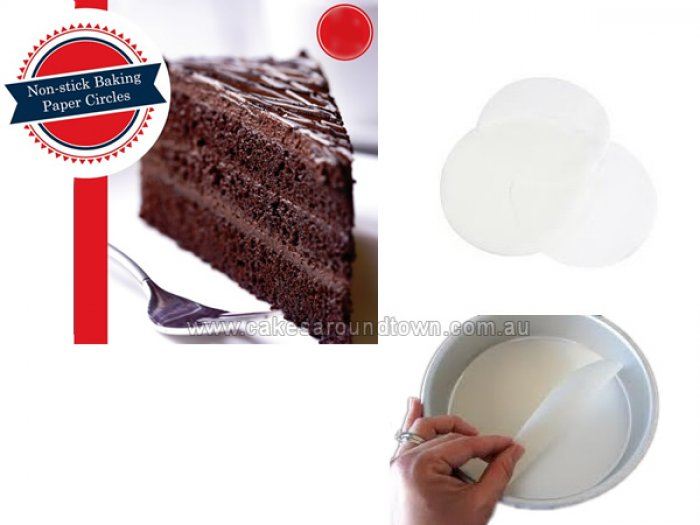 Non-stick Baking Paper Circles 12inch ROUND (25 pack)