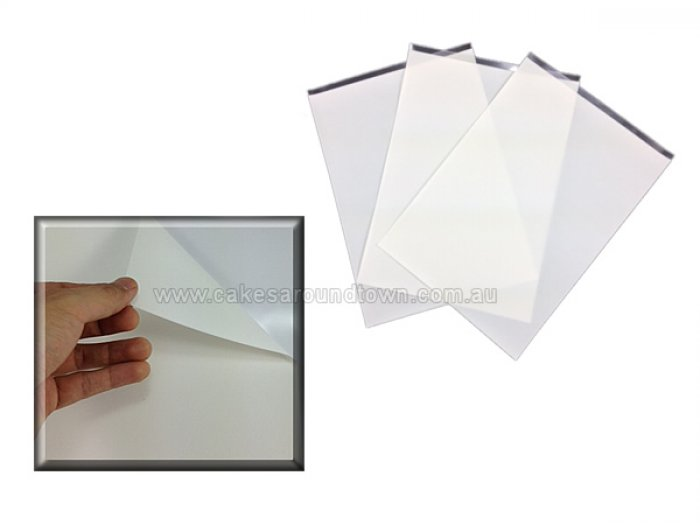Edible Icing Sheet SINGLE SHEET 21cm x 29cm (A4) - THICK STYLE