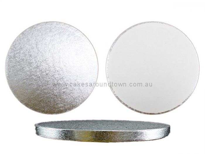 PREMIUM Silver Drum Boards - 8 inch Round