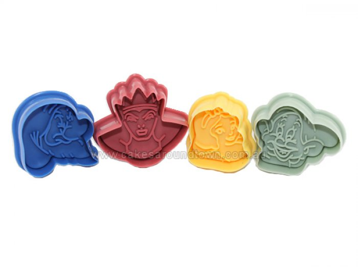 Snow White Plunger Cutter Set of 4 - DISCONTINUED