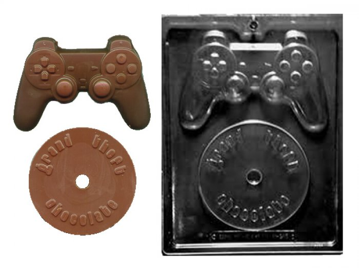 Video Game Kit Chocolate Gumpaste Mould