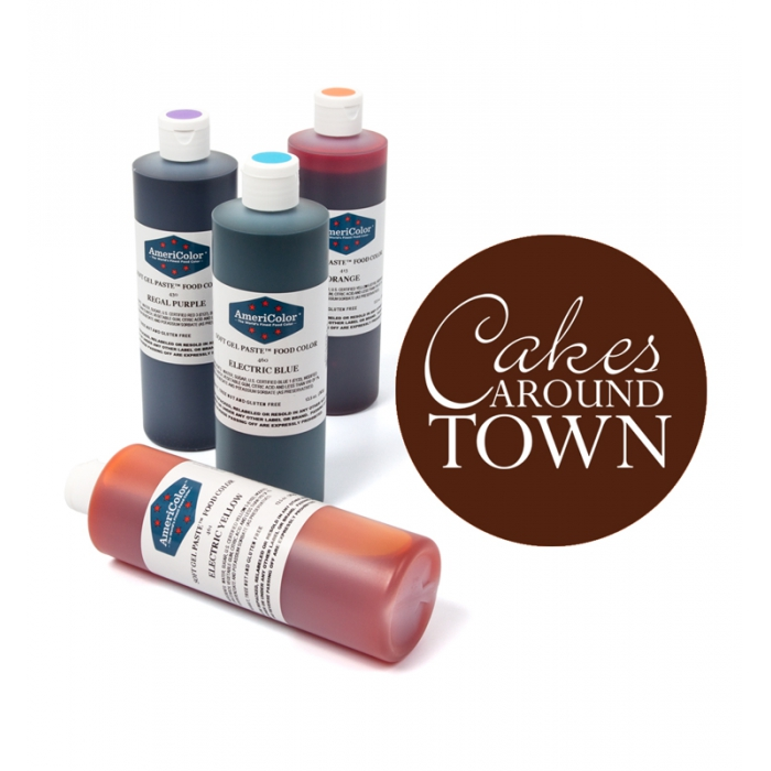 Americolor LARGE Soft Gel Paste 13.5oz (405ml) - CHOCOLATE BROWN
