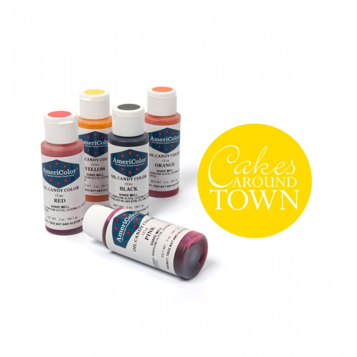 AmeriColor Oil Candy Color - YELLOW 60ml