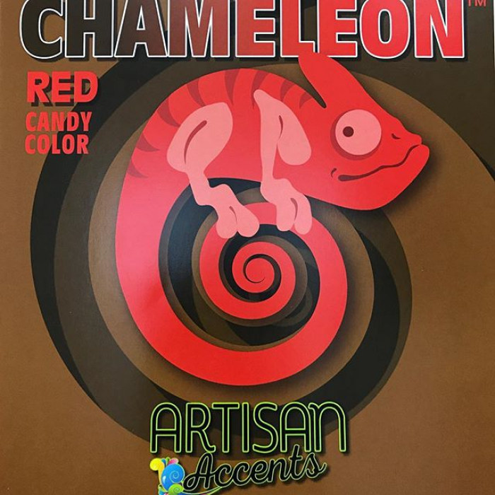 Artisan Accents Chameleon Candy Colour RED  (59ml)