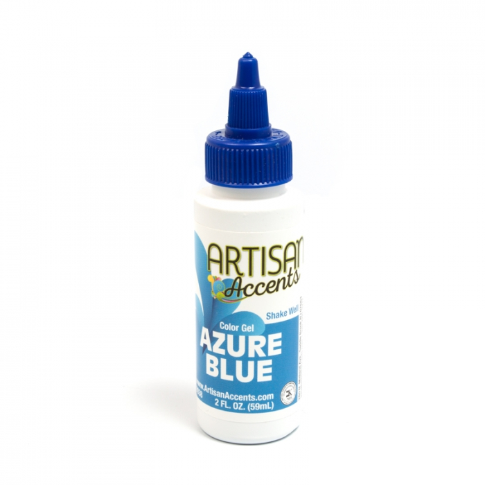Artisan Accents Colour Gel - Azure Blue 59ml (2FL)