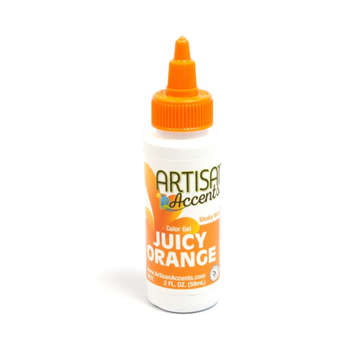 Artisan Accents Colour Gel - Juicy Orange 59ml (2FL)