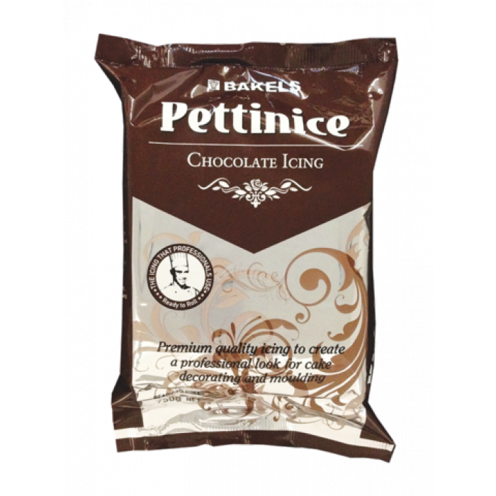 Bakels CHOCOLATE Pettinice Fondant 750g