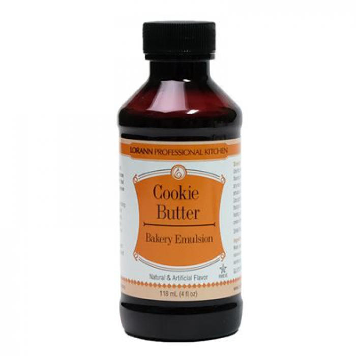 Baking Emulsion - COOKIE BUTTER Bakery Flavour 118.3mL