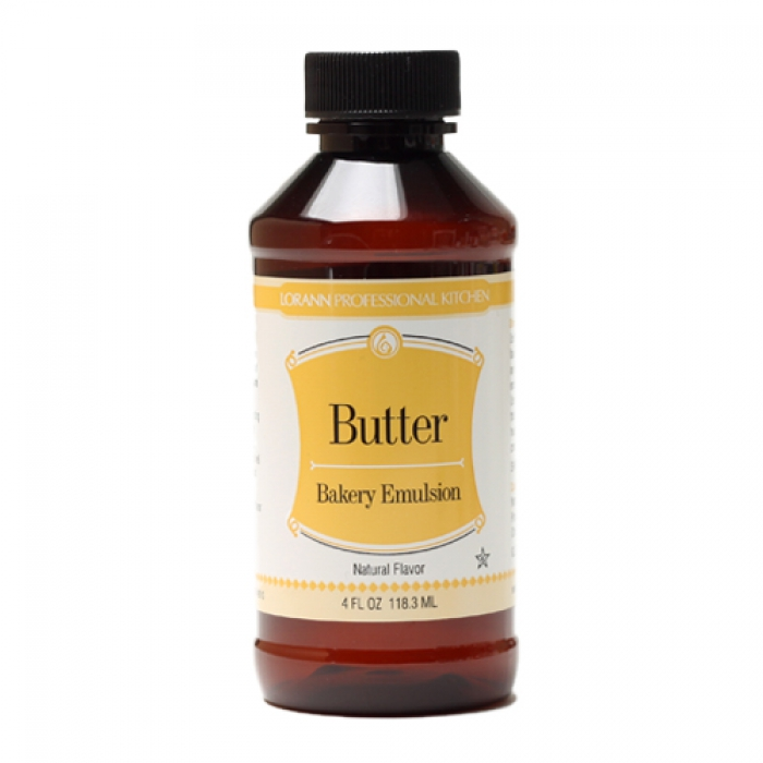 Baking Emulsion - NATURAL BUTTER Bakery Flavour 118.3mL