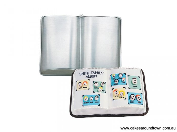 Wilton Open Book Cake Pan