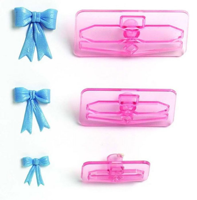 Small Bows (size 1-3) - Set of 3