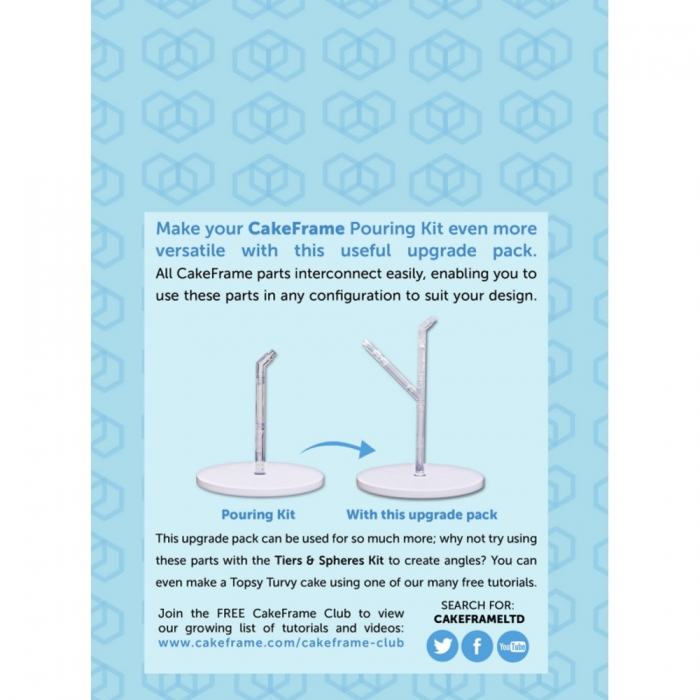 Cake Frame Double Pouring Expansion Pack