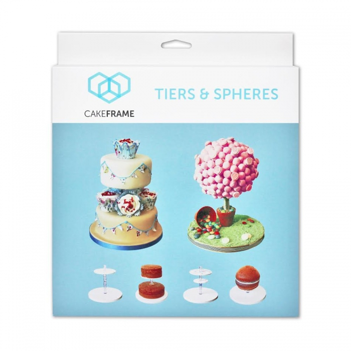 Cake Frame Tiers and Spheres Kit