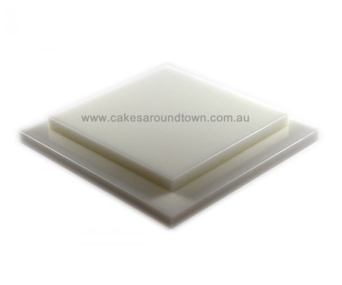 Square THICK(12 inches) Cake Setup Board 304mm by 15mm