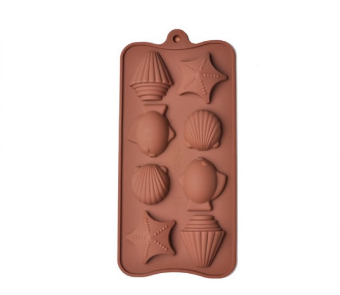 Sea Side & Shell Silicone Chocolate Mould