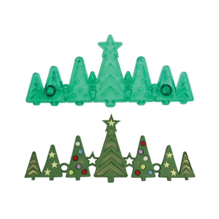 Christmas Tree Border Cutter by JEM  117CH019 Christmas Tree Border