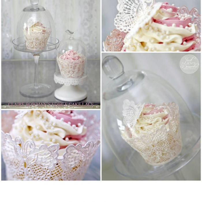 Claire Bowman 3D Cake Lace Mat - BUTTERFLY WRAPPERS