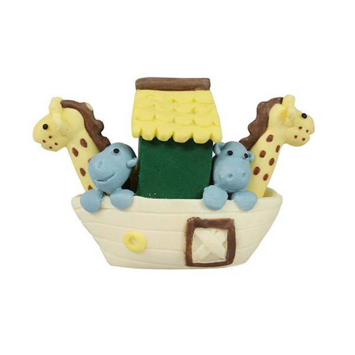 Claydough Small Noahs Ark Cake Decoration