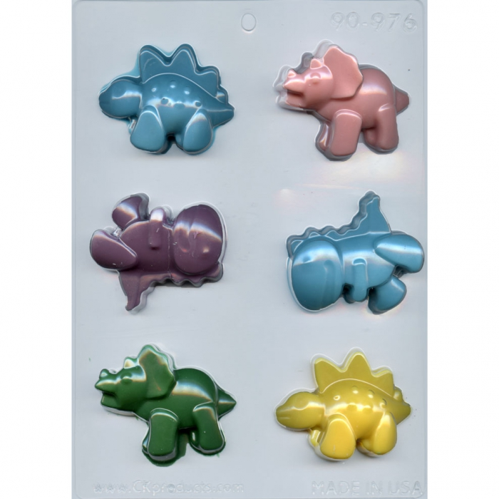 Cute Dino Chocolate / Gumpaste Mould