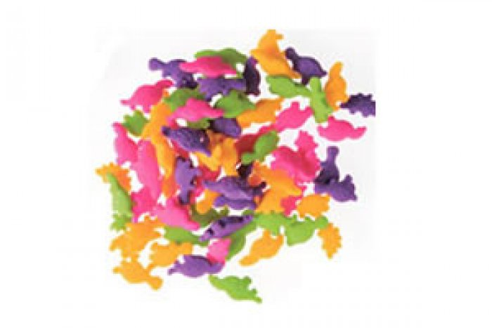 EDIBLE CONFETTI - Bright Dinosaurs - 68g Bottle